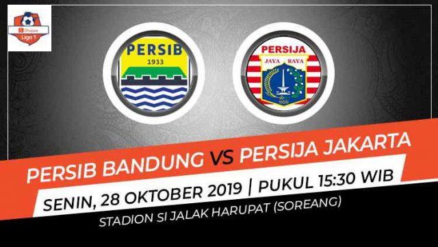 Prediksi Big Match : Persib Bandung Vs Persija Jakarta