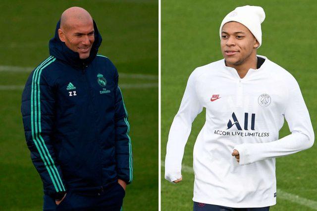 Zidane : Mbappe Bermimpi Untuk Menjadi Pemain Real Madrid