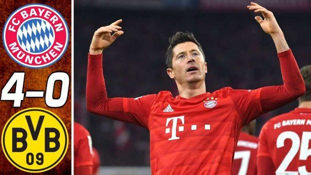 Hasil Liga Jerman : Bayern Munich Vs Borussia Dortmund