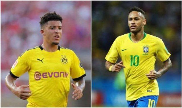 Neymar : Sancho Adalah Pemain Spesial