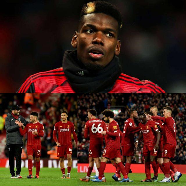 Pogba Tidak Heran Dengan Posisi Liverpool Musim Ini