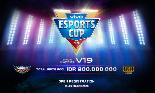 Vivo Selenggarakan Kompetisi Game eSports Cup 2020