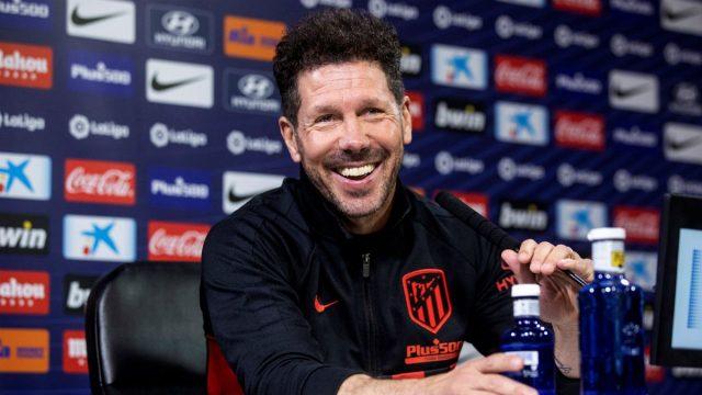 Simeone : Saya Tidak Akan Berbicara Mengenai Barcelona