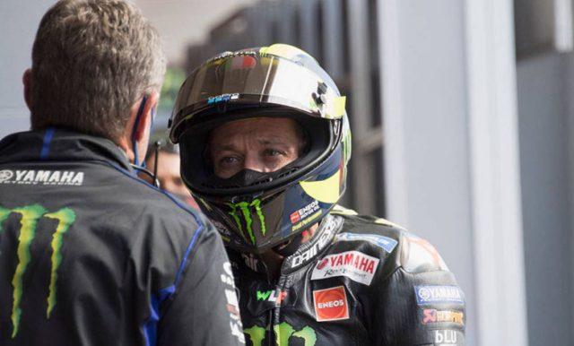Valentino Rossi Malu Jatuh di MotoGP Catalunya?