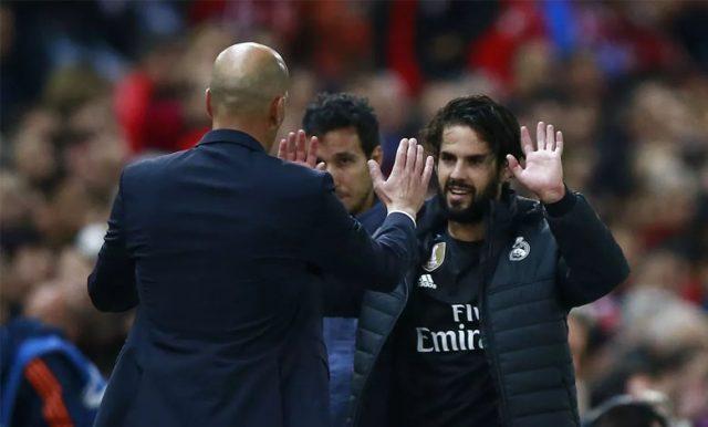Zinedine Zidane: Isco Adalah Pemain Hebat Di Real Madrid