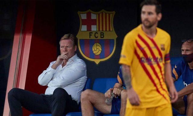 Koeman Jengkel Messi Terus Dirumorkan Akan Hengkang