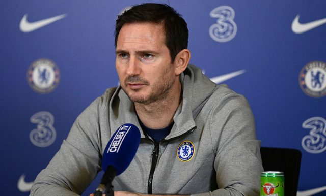 Frank Lampard Santai Dengan Masa Depannya