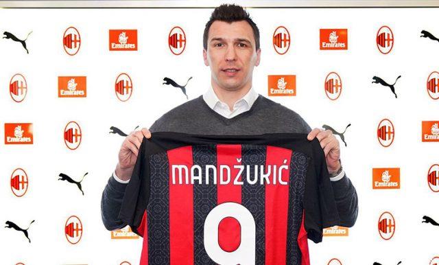 Mandzukic Sangat Senang Gabung Milan