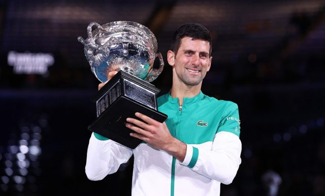 Juara Australia Terbuka Djokovic Targetkan Lebih Banyak Gelar Lagi