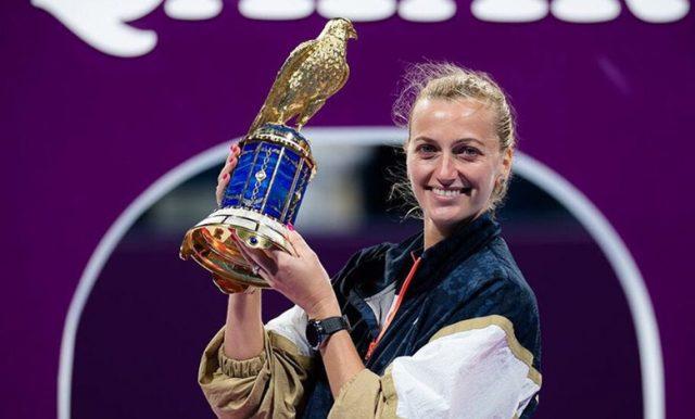 Petra Kvitova Sukses Raih Gelar di Qatar