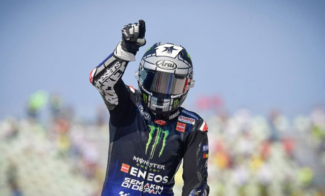 Vinales Sebut MotoGP Portugal 'Tidak Normal'