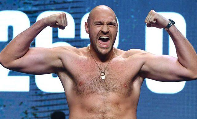 Tyson Fury Menantang Semua Petarung UFC