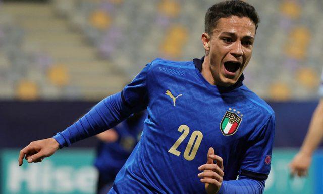 Raspadori : Saya Tak Akan Melupakan Debut Italia