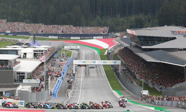 GP Austria Akan Dibuka Untuk Penonton