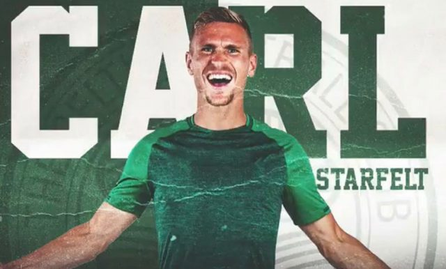Celtic Menyetujui Kesepakatan Untuk Rekrut Carl Starfelt