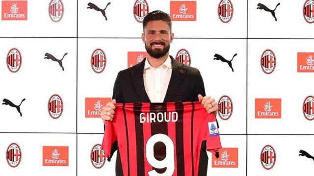 Giroud Ingin Raih Trofi Bersama Milan