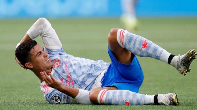 Ronaldo Meratapi Kekalahan Manchester United