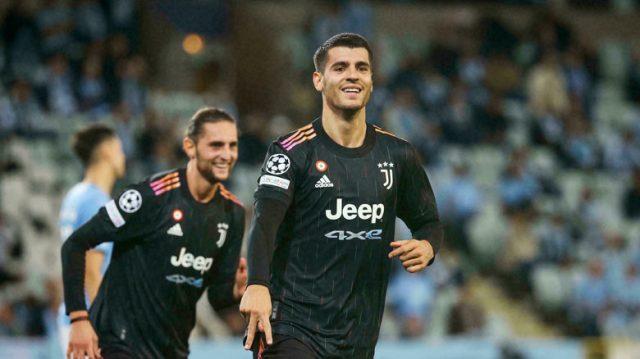 Morata: Juventus 'Tak Tertekan Sama Sekali'